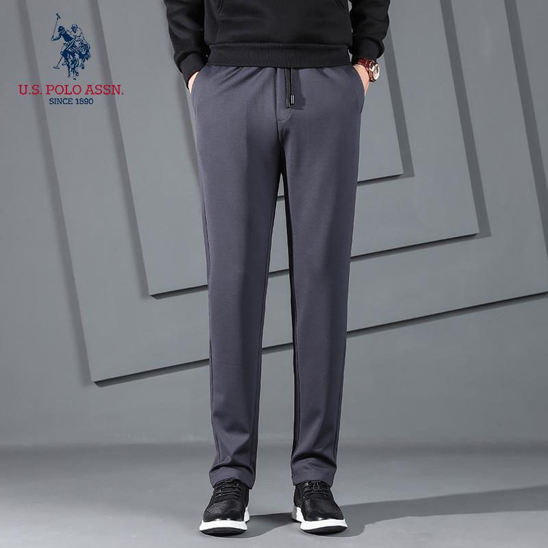 U.S.POLO ASSN.简约时尚休闲裤