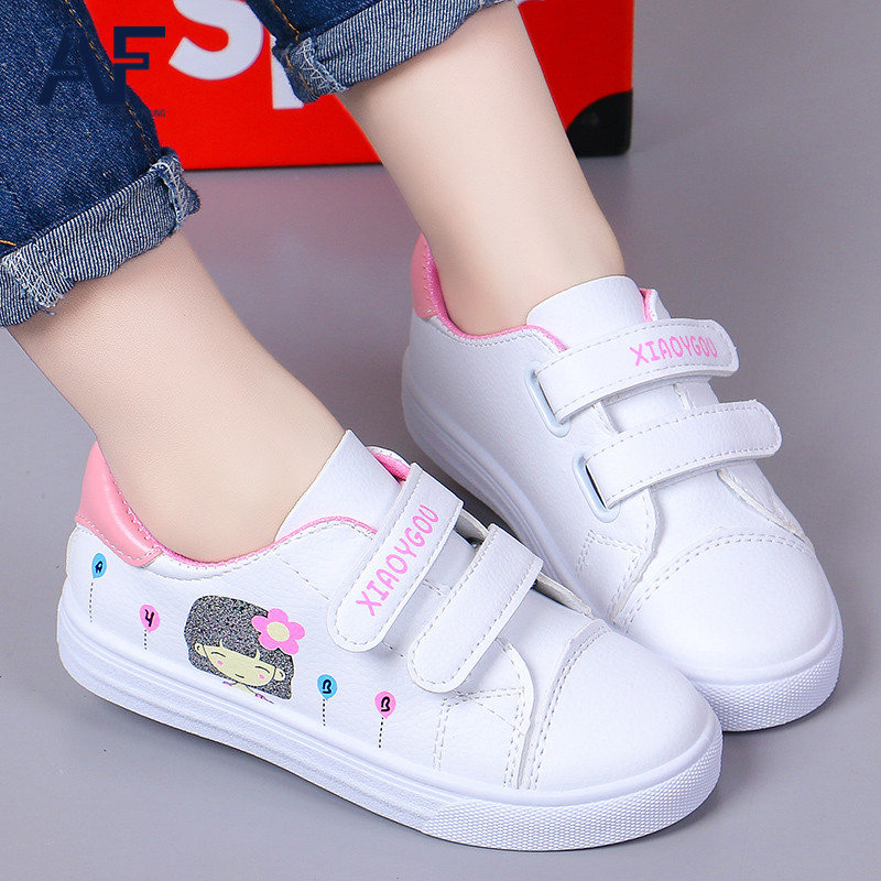 AF平底学生魔术贴韩版童鞋